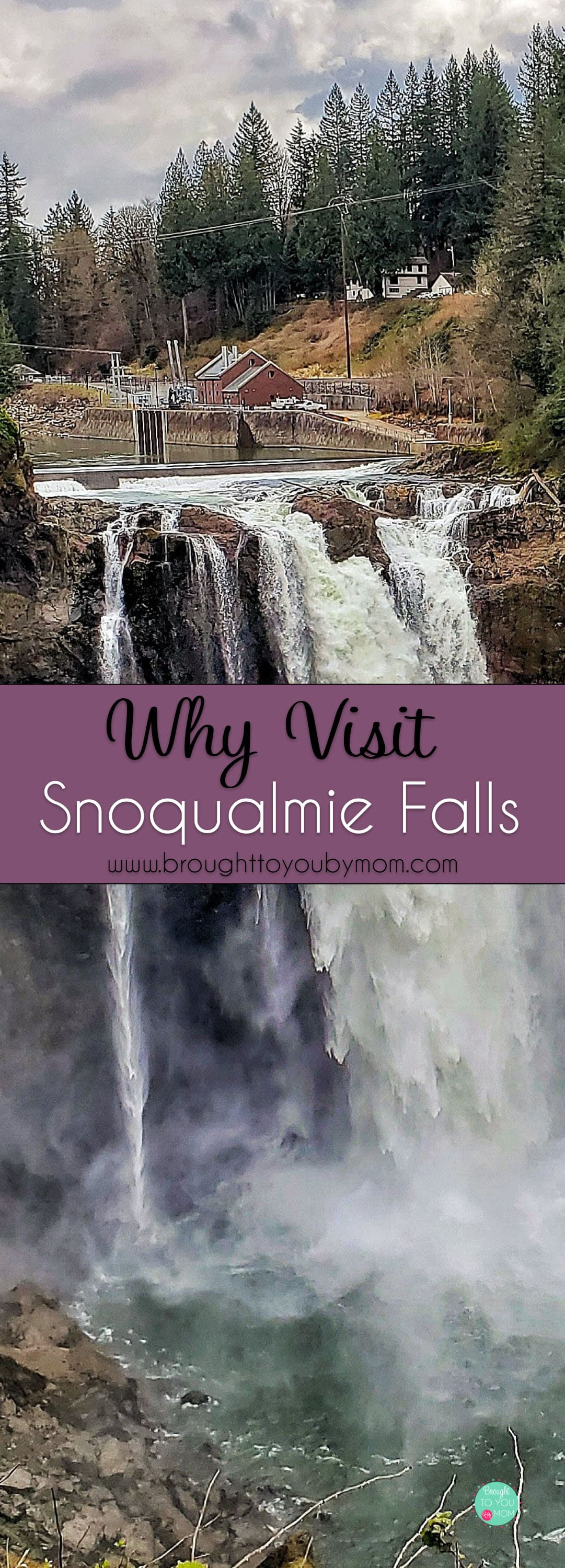 A Snoqualmie Falls hike is the perfect fun family day trip. Snoqualmie Falls Washington is a breathtaking gem in the Pacific Northwest. You must see it. #hiking #washington #pnw #travel