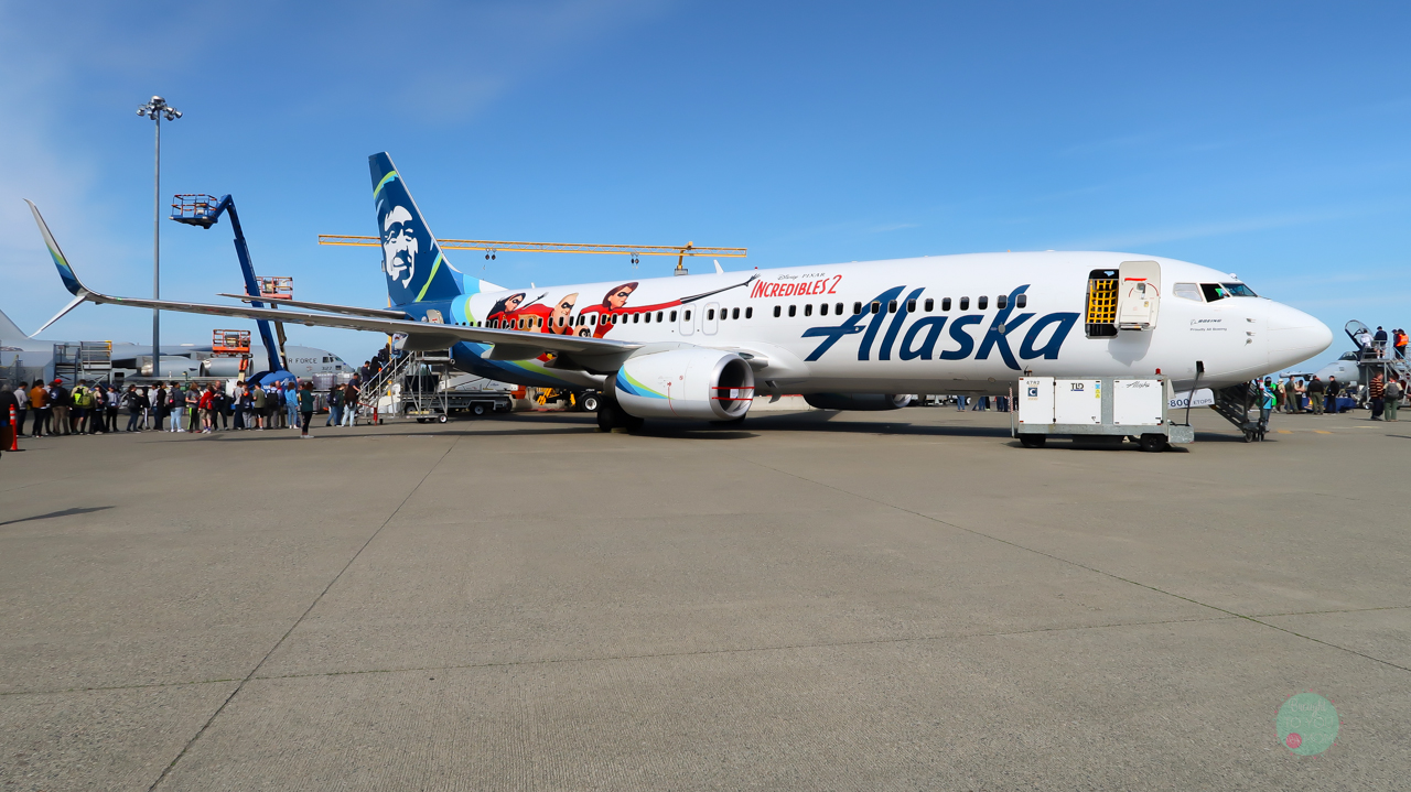 Alaska Airlines Disney Pixar Plane