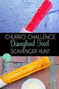 Churro Challenge at Disneyland