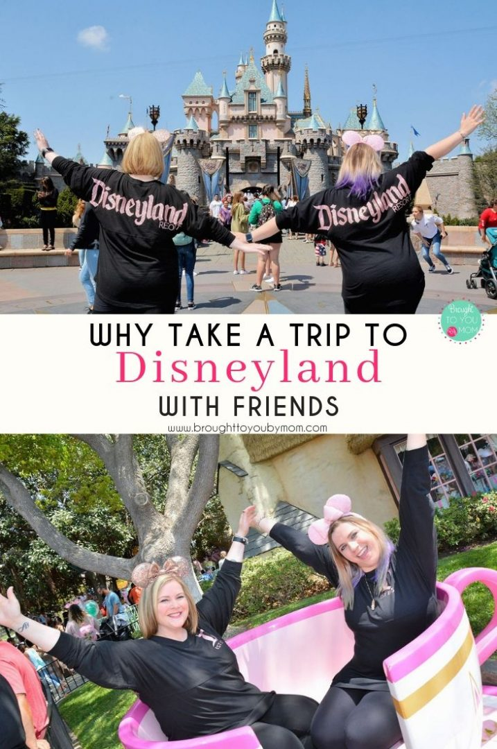 Have you ever taken a Disneyland trip with friends? No kids, no spouses, just friends. I am here to tell you that there are so many ways to enjoy Disneyland and each trip is different. #disneyland #disney #travel