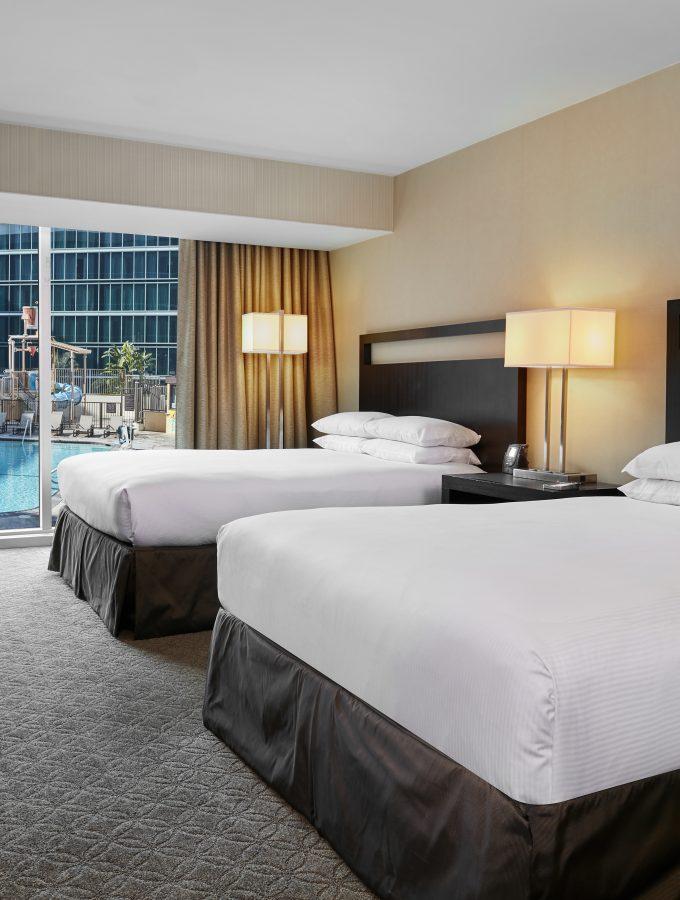 Double Queen Beds Hilton Anaheim