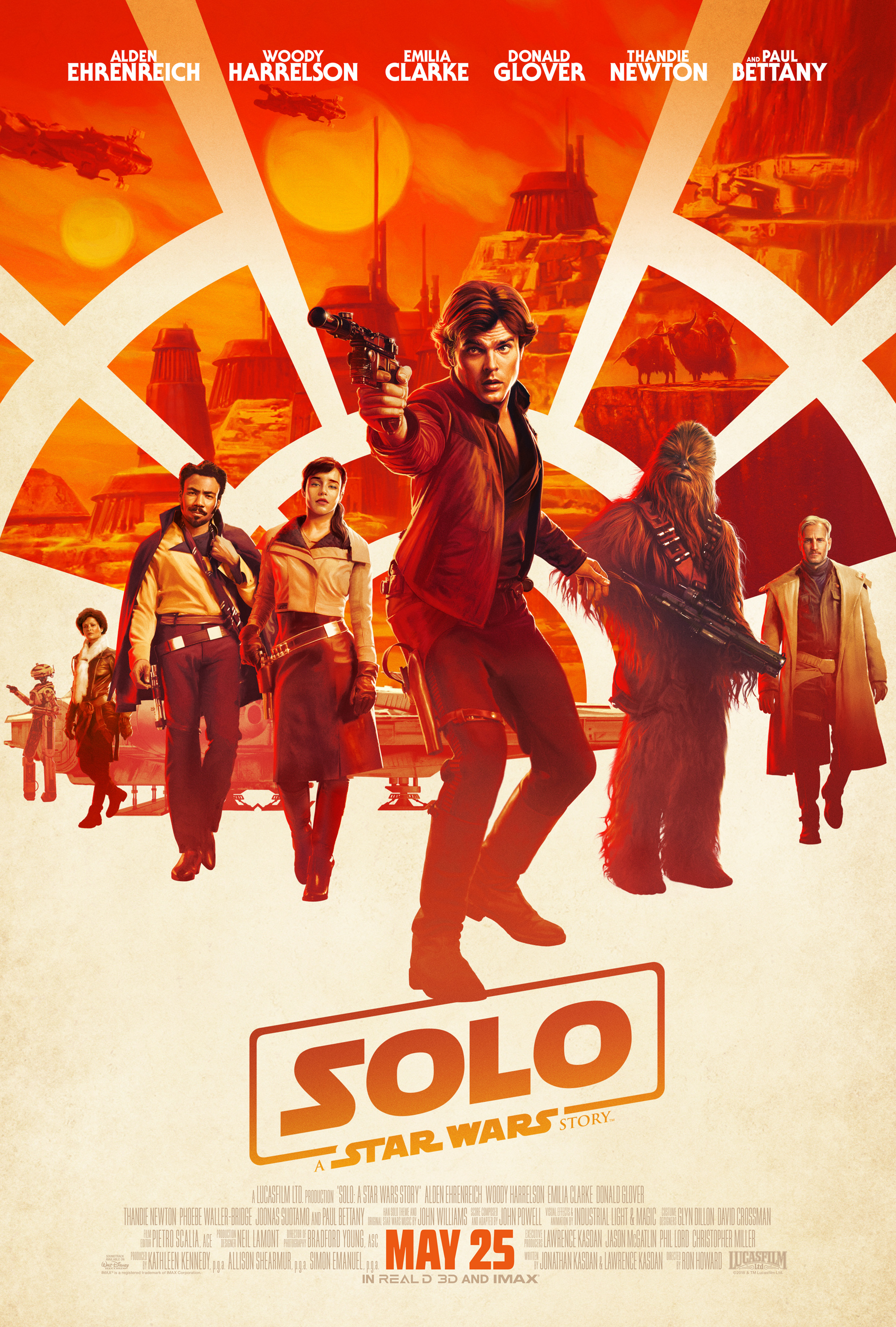 Solo: A Star Wars Story no-spoiler review. With plot twists and answers to some of our questions in the Star Wars saga, this is one movie not to miss this summer. And does Lando finally get Han's name right?