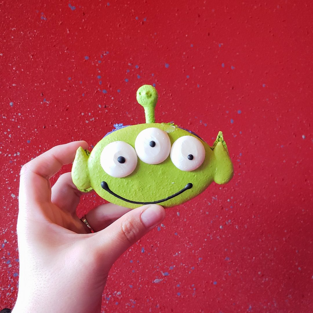 Alien Macaron at Pizza Planet
