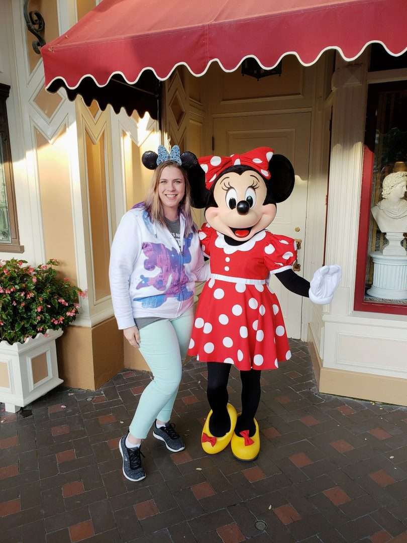 Minnie Mouse with Krystal
