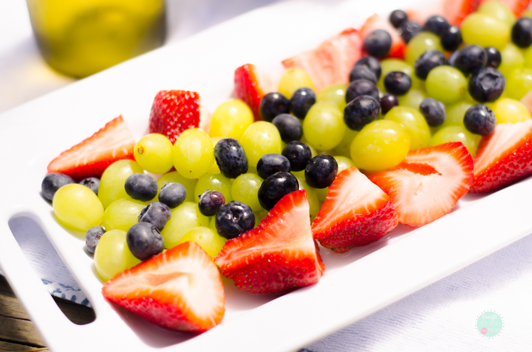 Boozy Fruit Salad