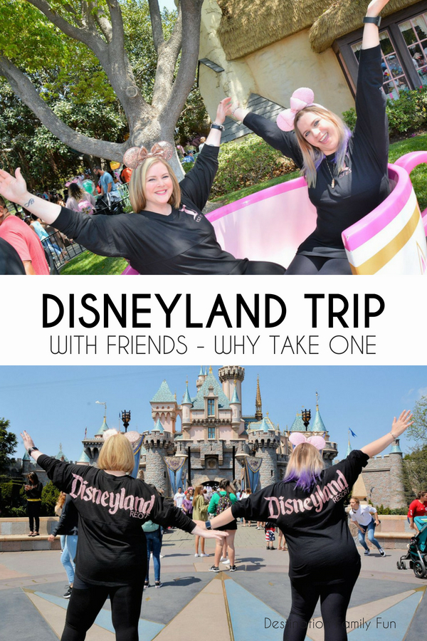 A Disneyland trip with friends can be just what the doctor ordered. Come home renewed, do things you've never done, and more. Check out why a Disneyland trip with friends is important.