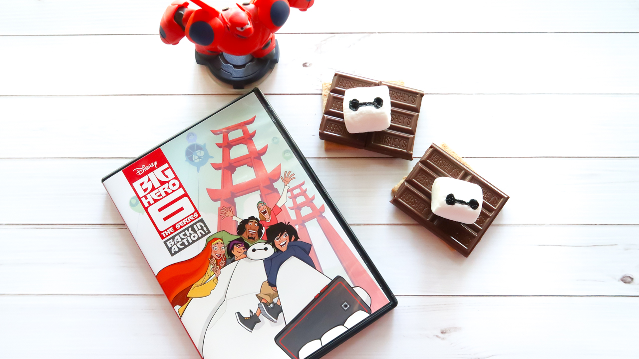 Big Hero 6 Series DVD