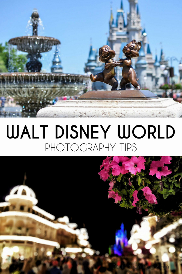 Disney World Photography Tips to help bring back the best magical photographs you can from your next Walt Disney World trip. How to take better photos at Disney!
