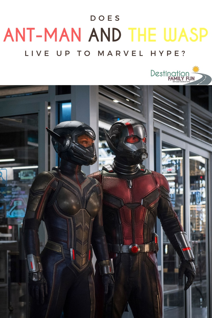 Ant-Man and the Wasp has joined the Marvel Cinematic Universe but does it live up to the Marvel hype? Ant-Man and the Wasp is great and not so great. Ant-Man and the Wasp movie review.#antmanandthewasp #antman #marvel #antmanandthewaspreview #familyentertainment #familymovies #marvelmovies