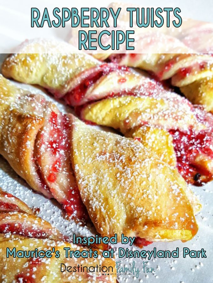 Raspberry Twists Recipe