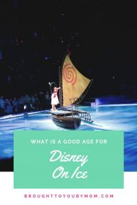 What is a good age for Disney on Ice?