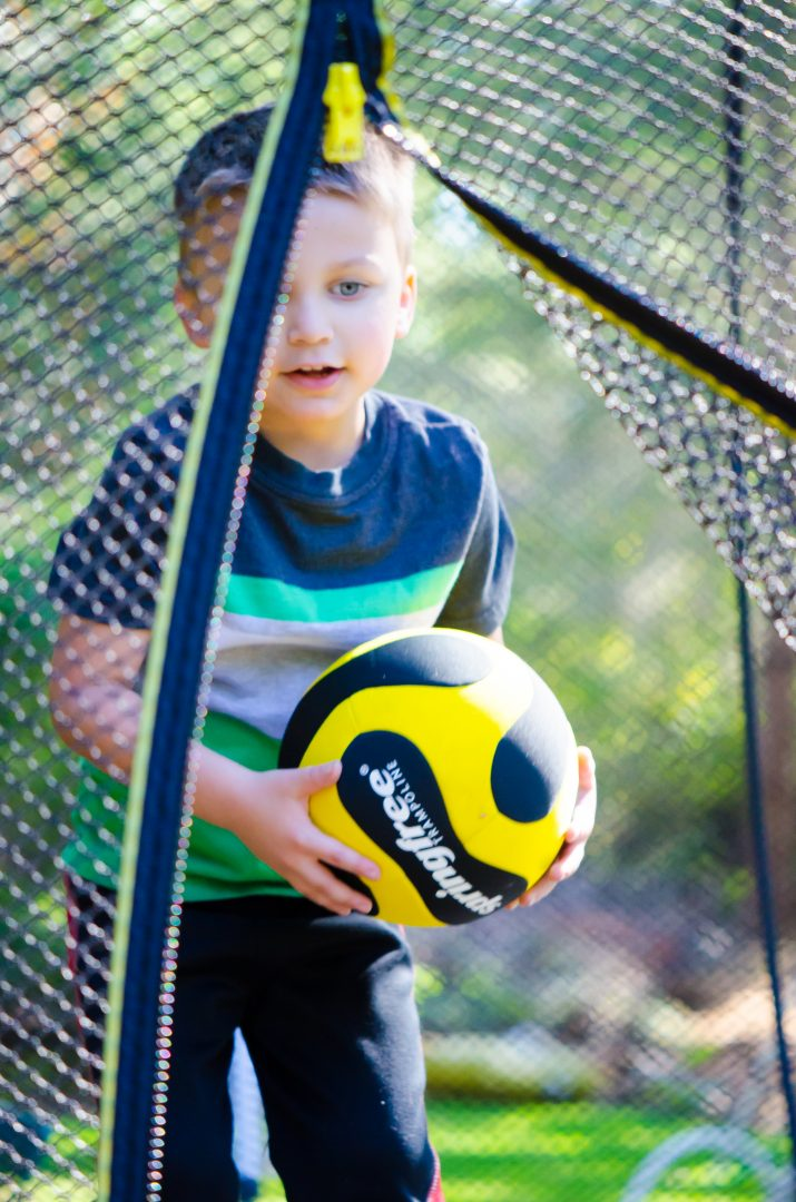 Springfree Trampoline is a homeschool PE option for families.