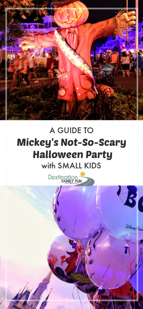 A Guide to Mickey's Not-So-Scary Halloween Party with Small Kids