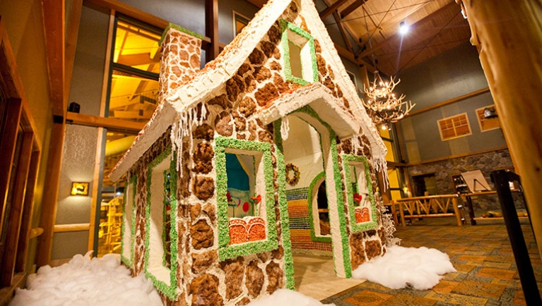 Snowland Gingerbread House