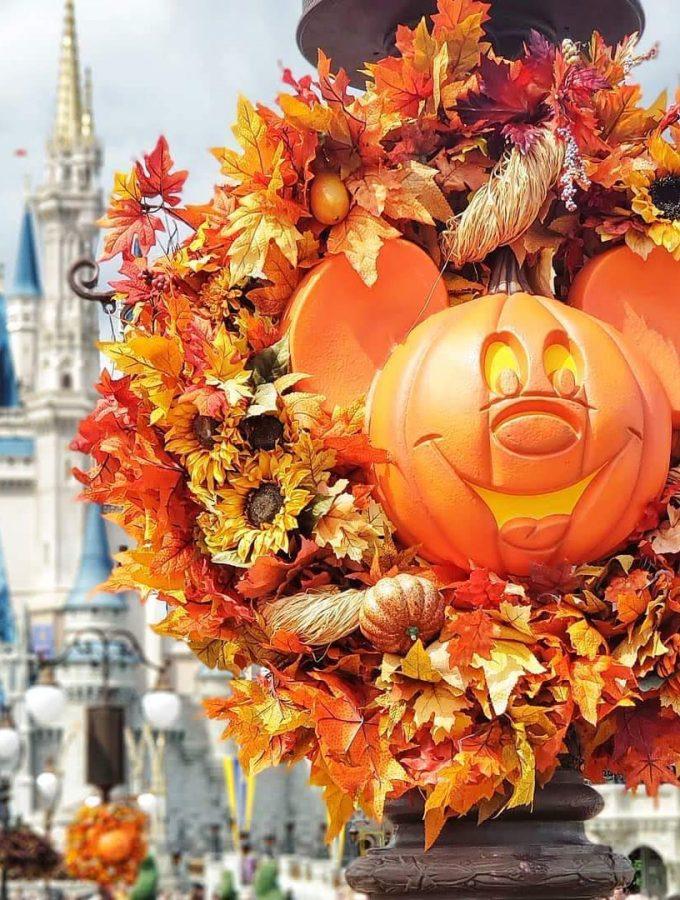 Walt Disney World in the Fall