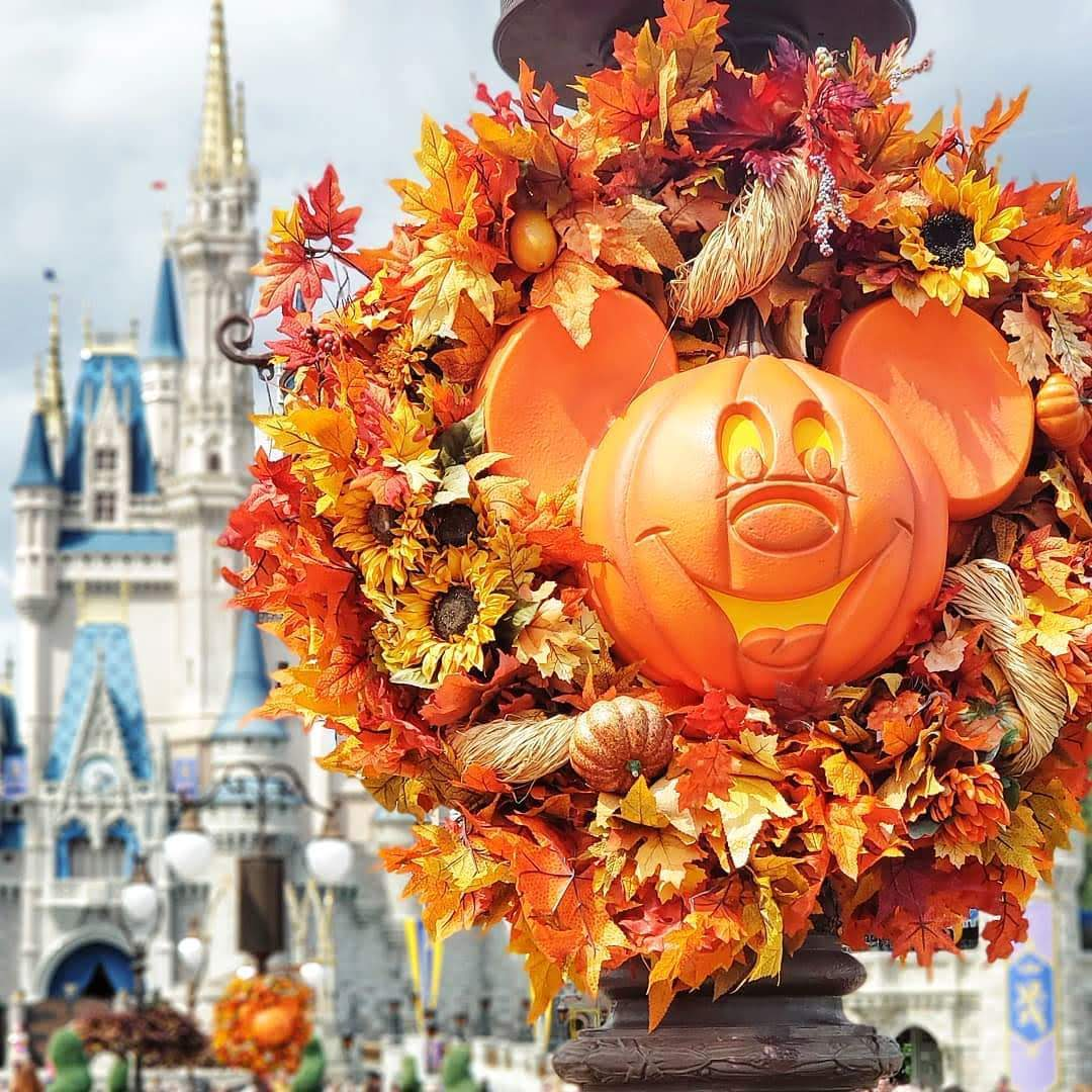 Halloween Decor at Walt Disney World