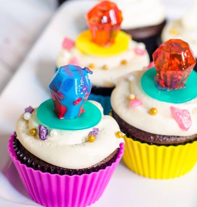 Fancy Nancy Cupcakes