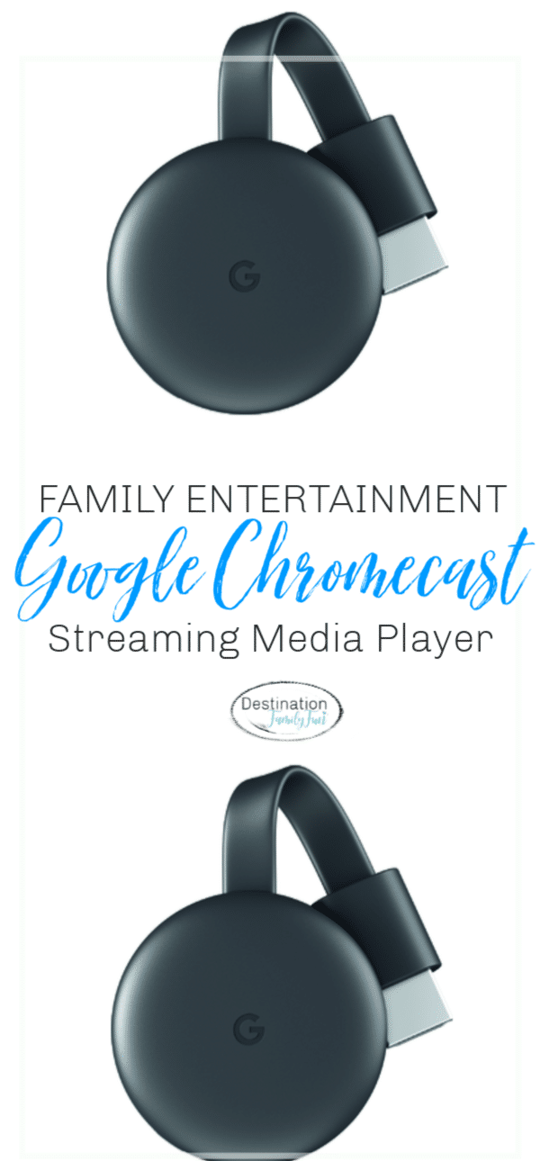 #ad Google Chromecast Streaming Media Player is a great addition for family entertainment at home without the cable box.#family #entertainment #google #chromecast #steraming #technology #device #christmas #gift