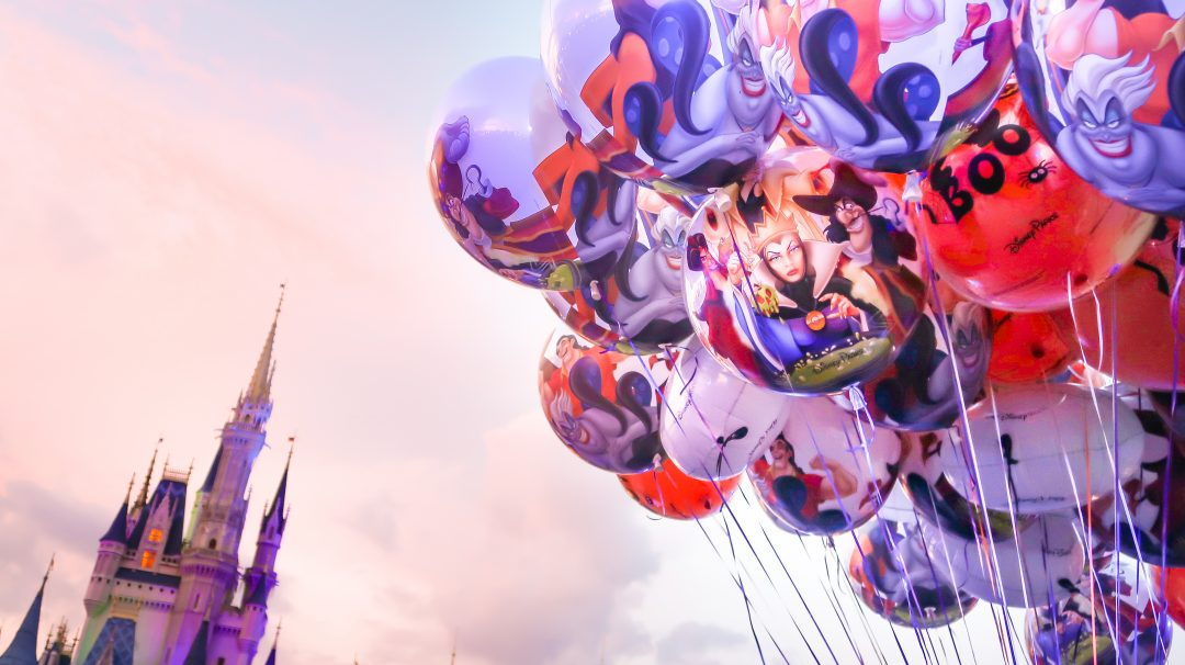 Mickey's Not-So-Scary Halloween Party Balloons