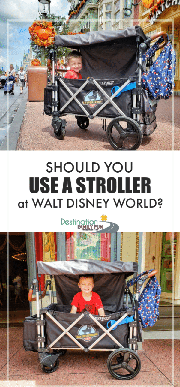 Stroller at Walt Disney World