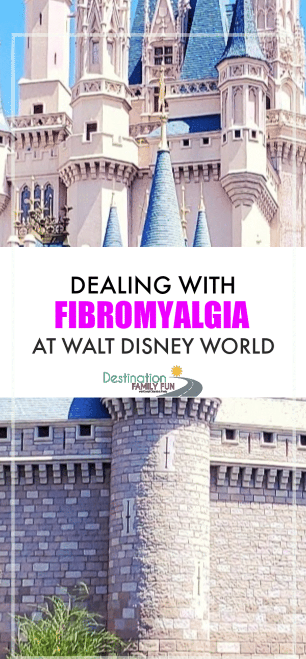 Fibromyalgia at Walt Disney World can feel like a world of hurt. Literally. Tips from a fellow Fibro Disney Loving Warrior might help. Here is how I deal with my fibromyalgia while exploring the Disney Parks.#fibromyalgia #fibro #chronicpain #travel #travelingwithchronicpain #travel #disney #waltdisneyworld