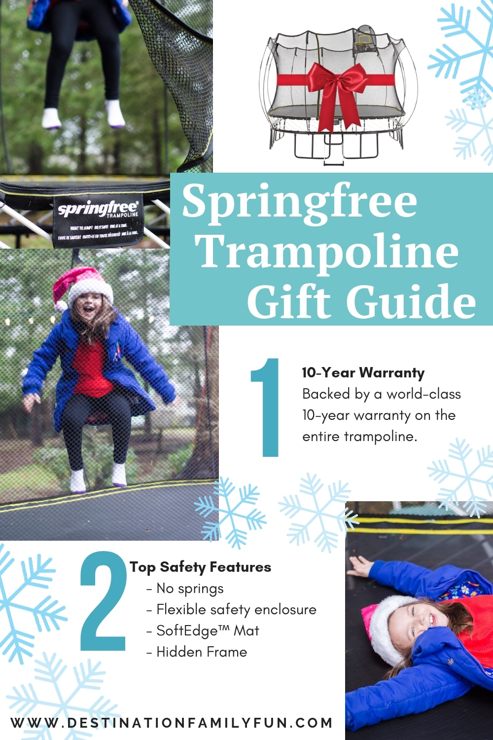 Springfree Trampoline Gift Guide