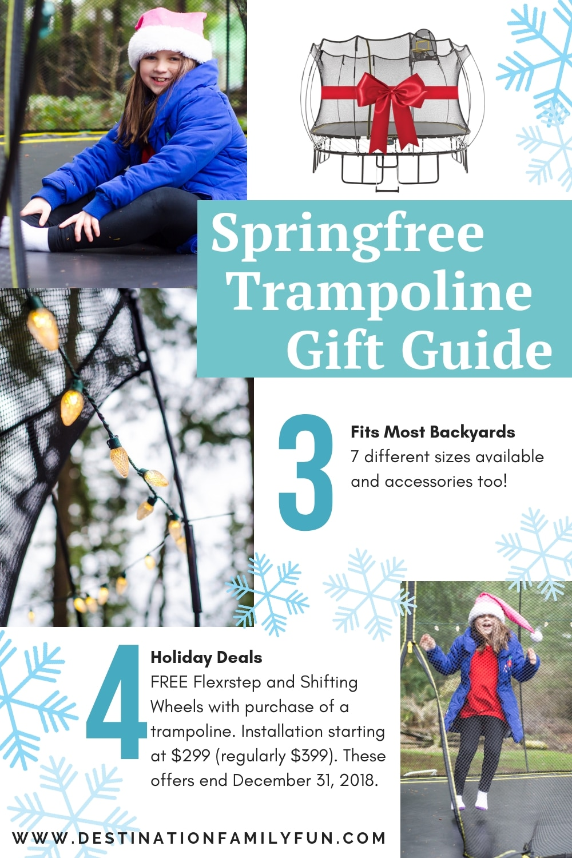 Springfree Trampoline Gift Guide