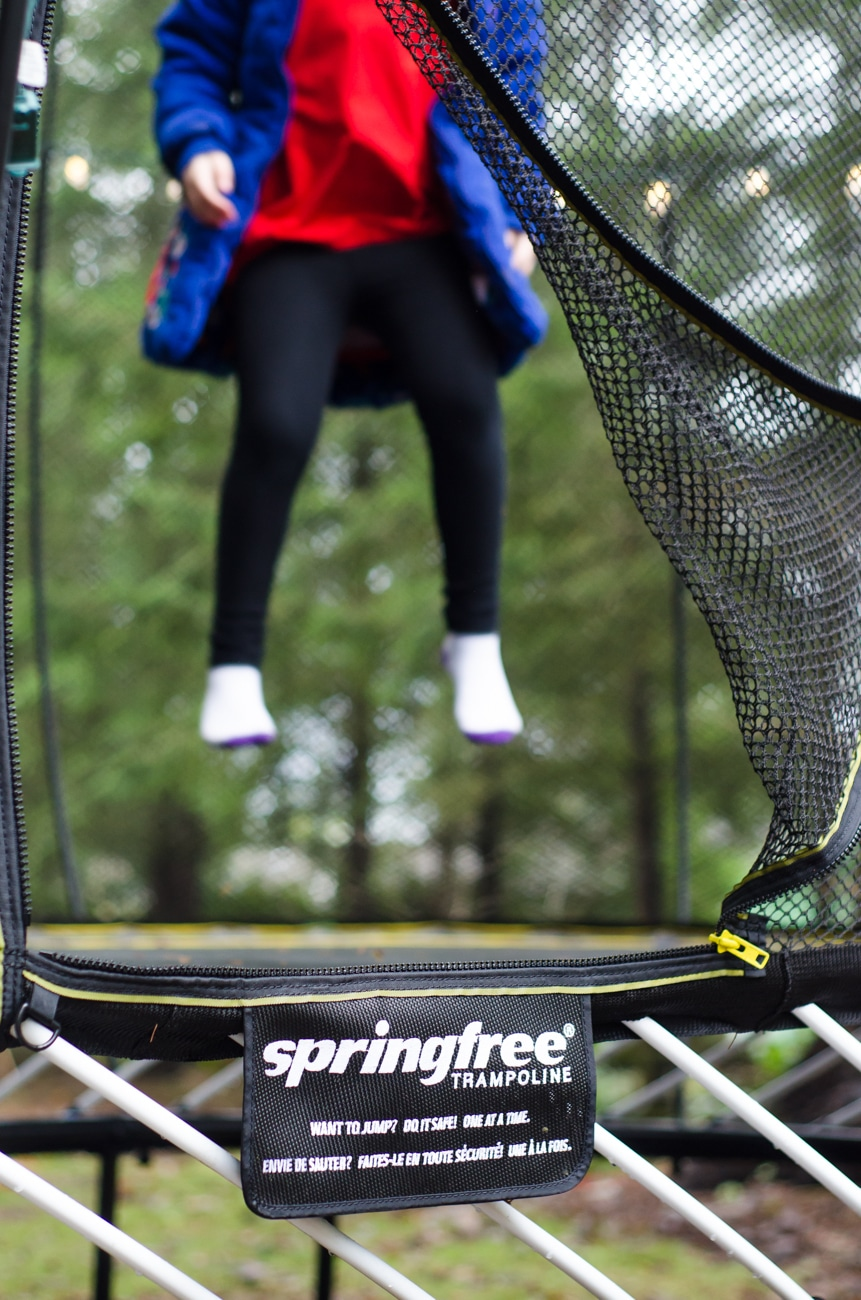 Best Kids Gifts for 2018 Springfree Trampoline Sign