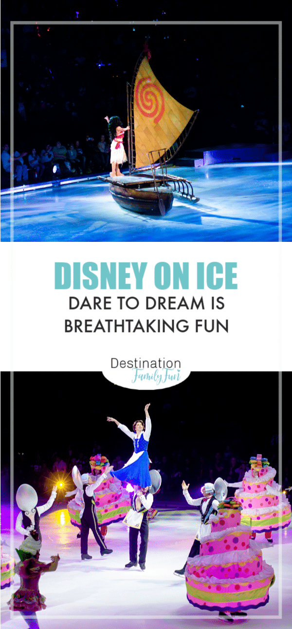 Disney On Ice Dare to Dream is an interactive and breathtaking show that really has brought out the best in Disney On Ice.#DisneyOnIce #DaretoDream
