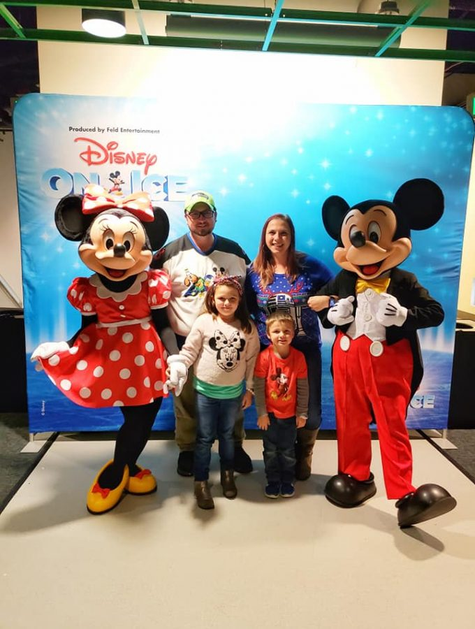 Disney On Ice with Mickey and Minnie