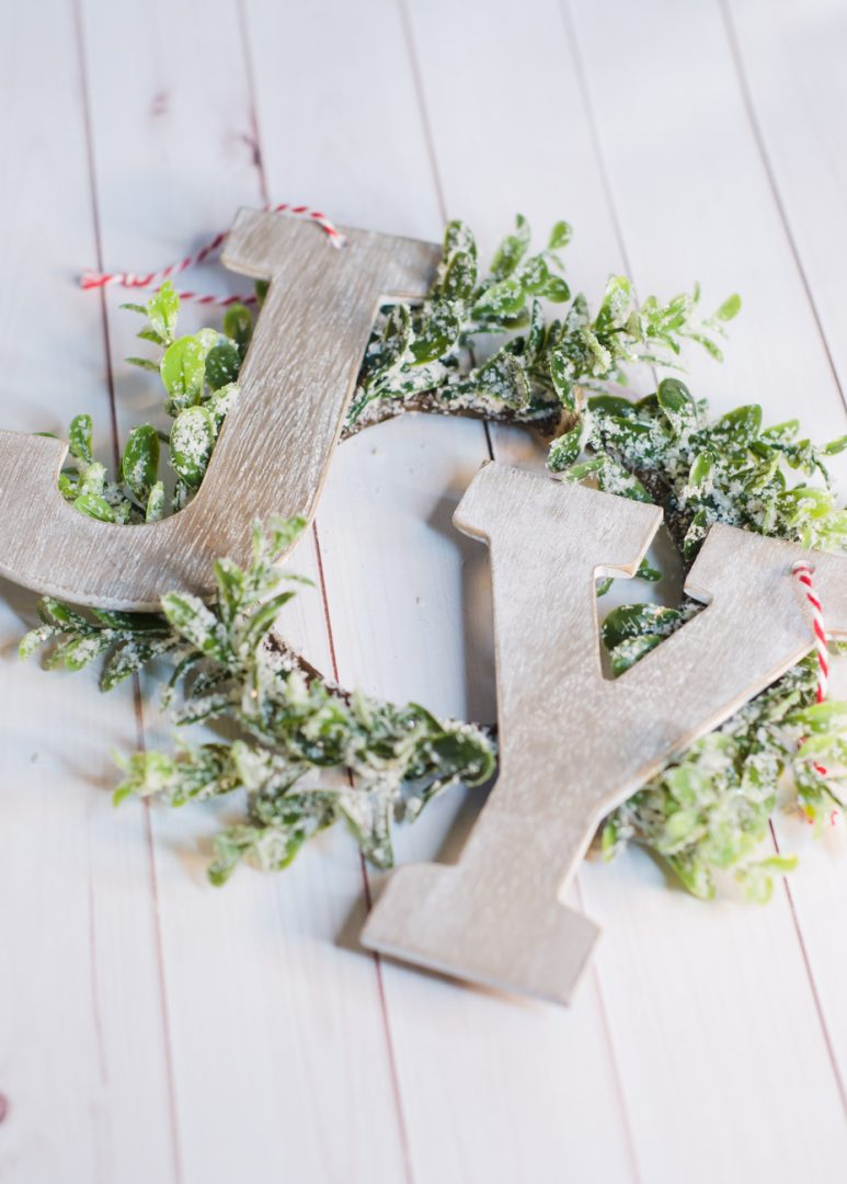 Joy Wreath DIY