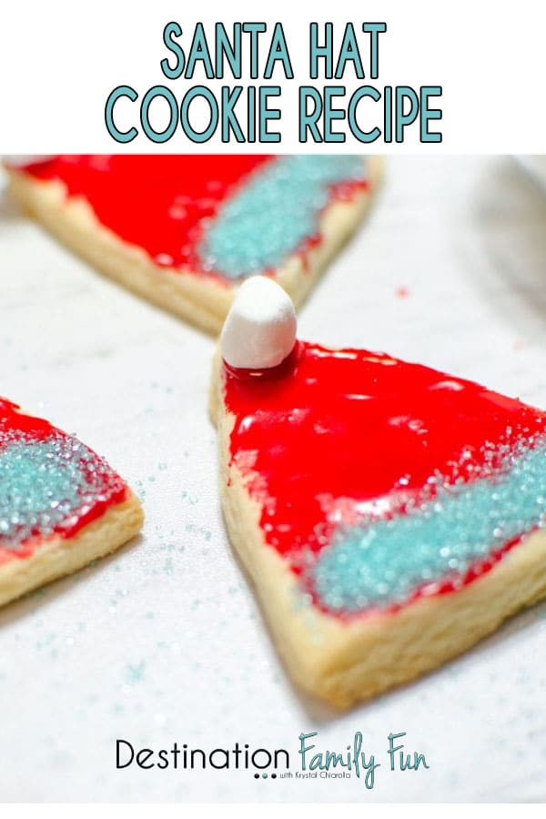 Santa Hat Cookie Recipe