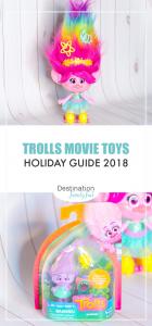 Trolls Movie Toys Pin