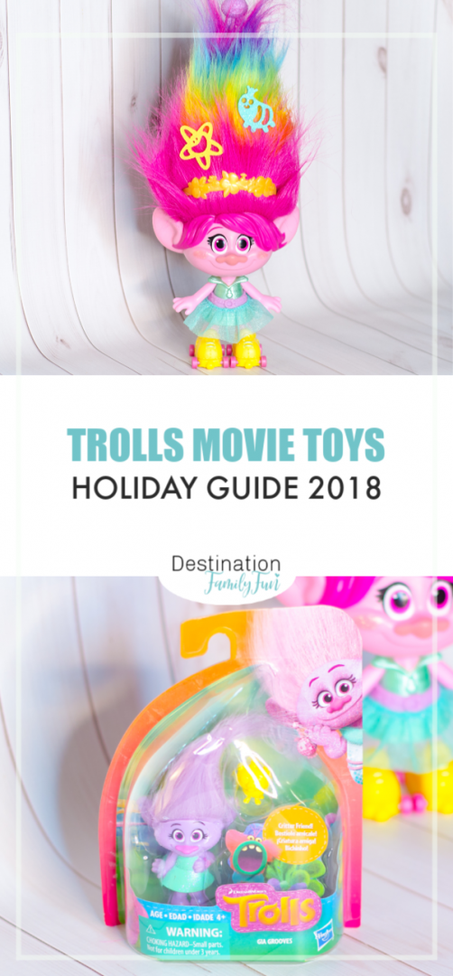 Trolls Movie Toys Pin