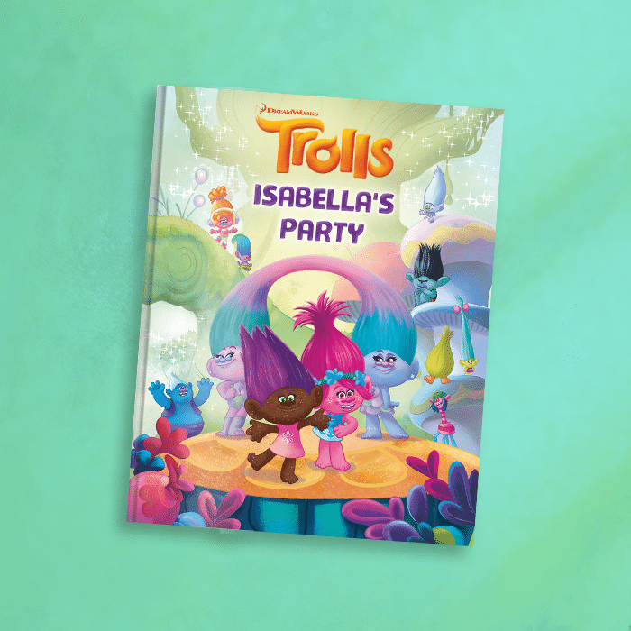 Trolls Movie Toys Personalized Book