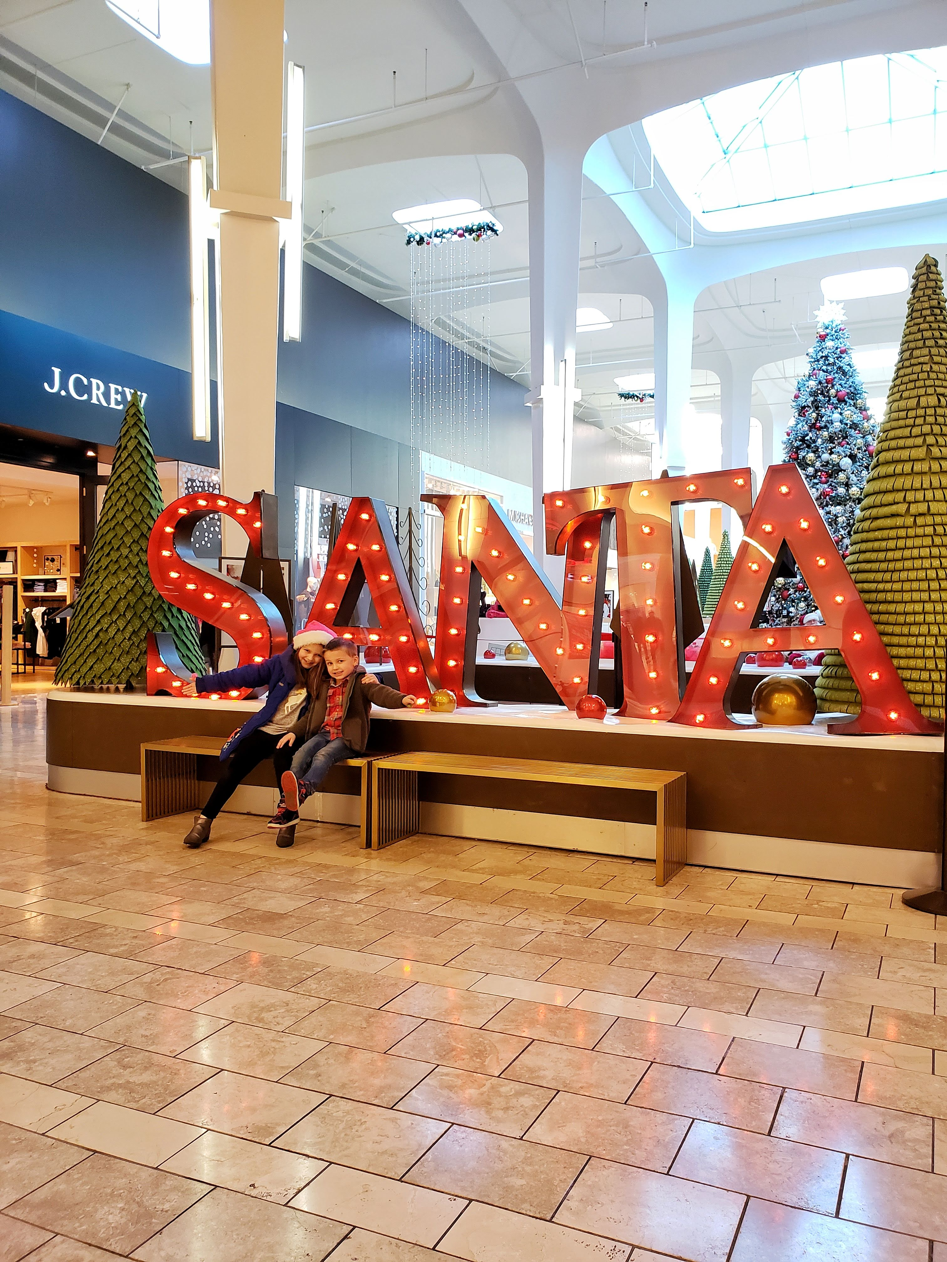 Santa at Westfield Mall Southcenter - Best Experience Gifts for Kids