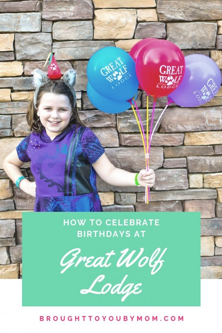 How to Celebrate a Birthday at Great Wolf Lodge Pinterest Image