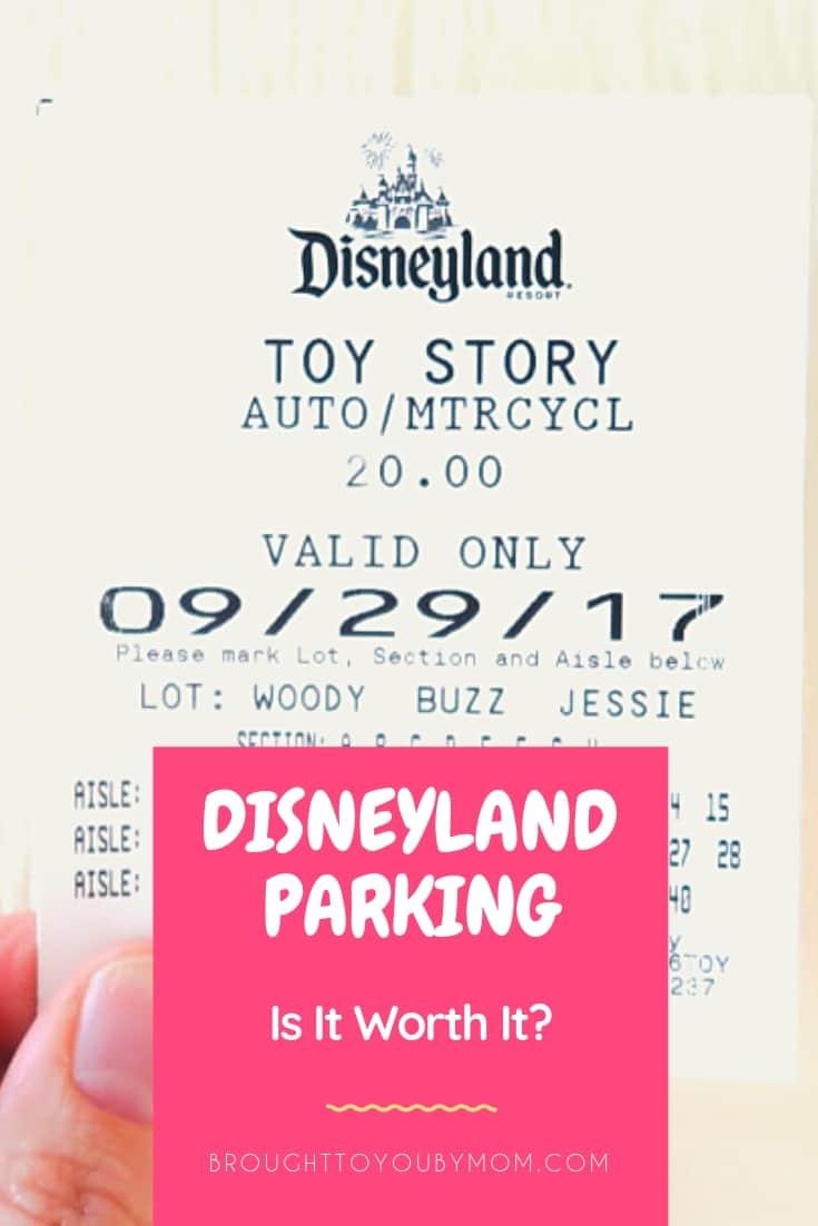 Disneyland Parking Worth