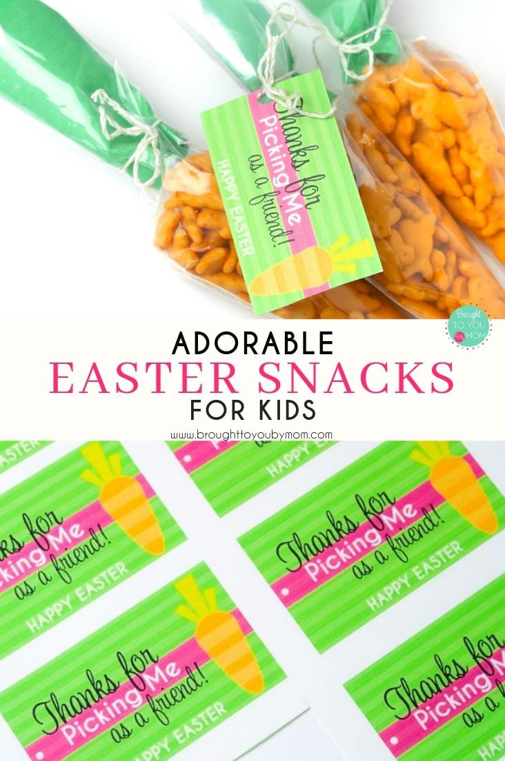 Adorable Easter Snacks for Kids