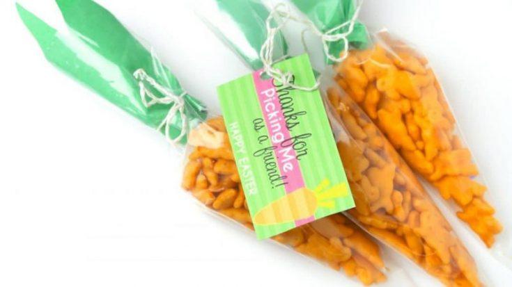 Easter Snacks for Preschoolers - Easter Printable