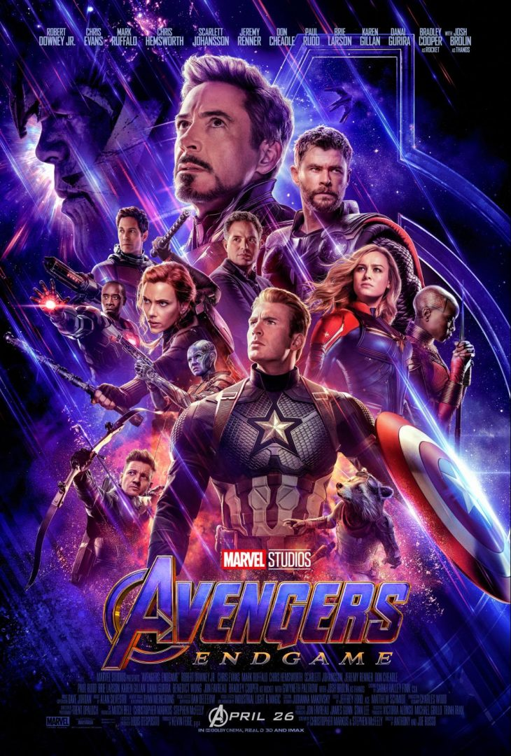 Avengers Endgame Movie Post