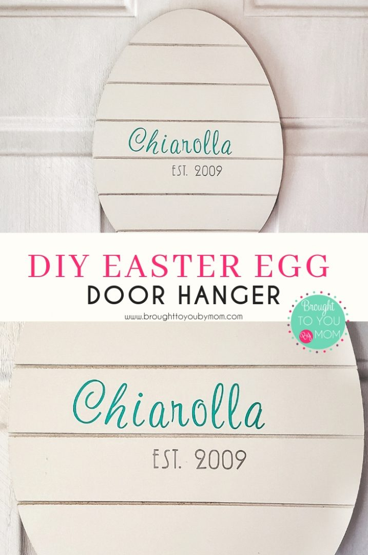 Easter Egg Door Hanger DIY