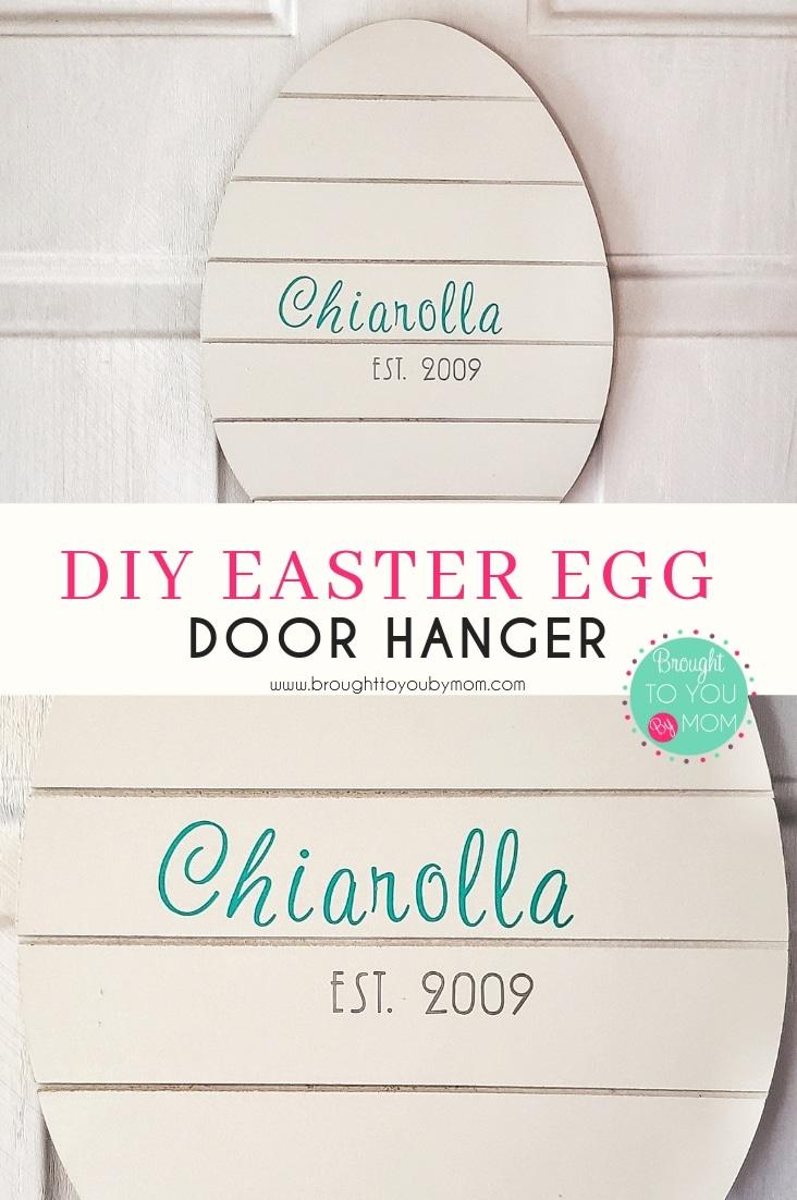 Easter Egg Door Hanger DIY