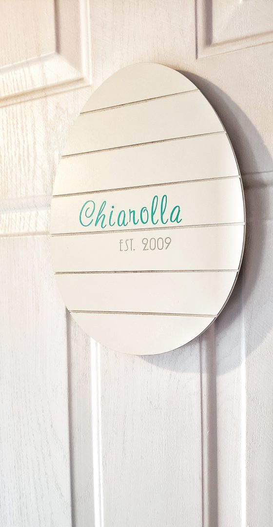 Easter Egg Door Hanger DIY Tutorial