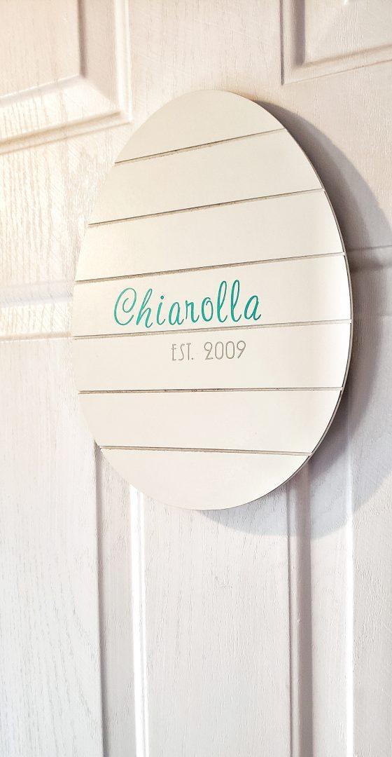 Easter Egg Door Hanger DIY Tutorial