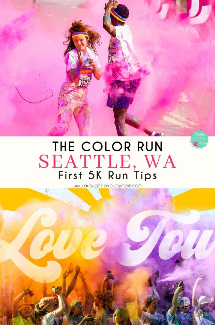 The Color Run returns to Seattle, Washington, this 2019 for the 10th time. Filled with self-love and love for one another empowerment, this 5K is not to miss. Get tips on a first 5K and more. #running #5k #thecolorrun #Happiest5k #TCRLove