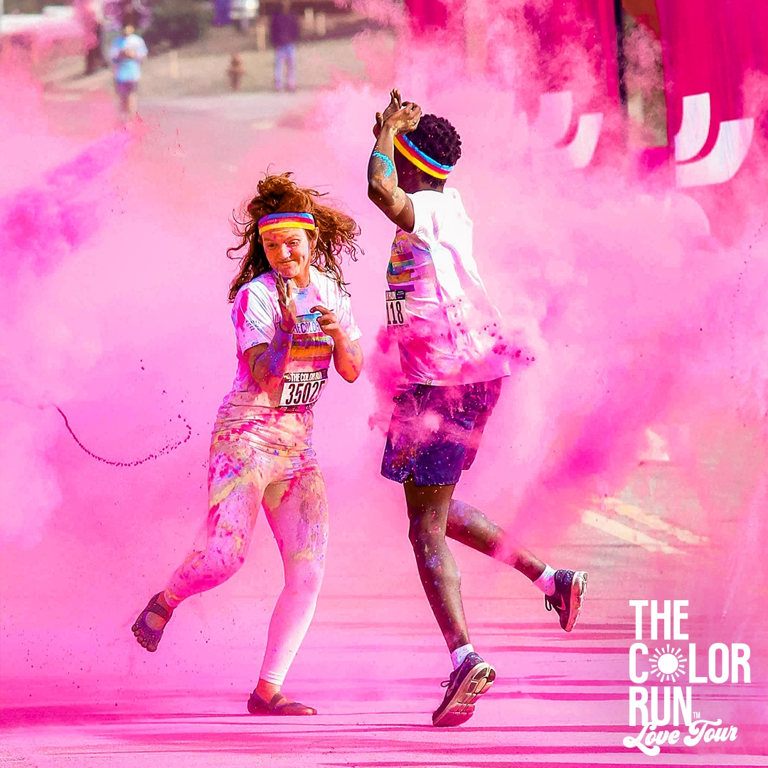 The Color Run Seattle Tour