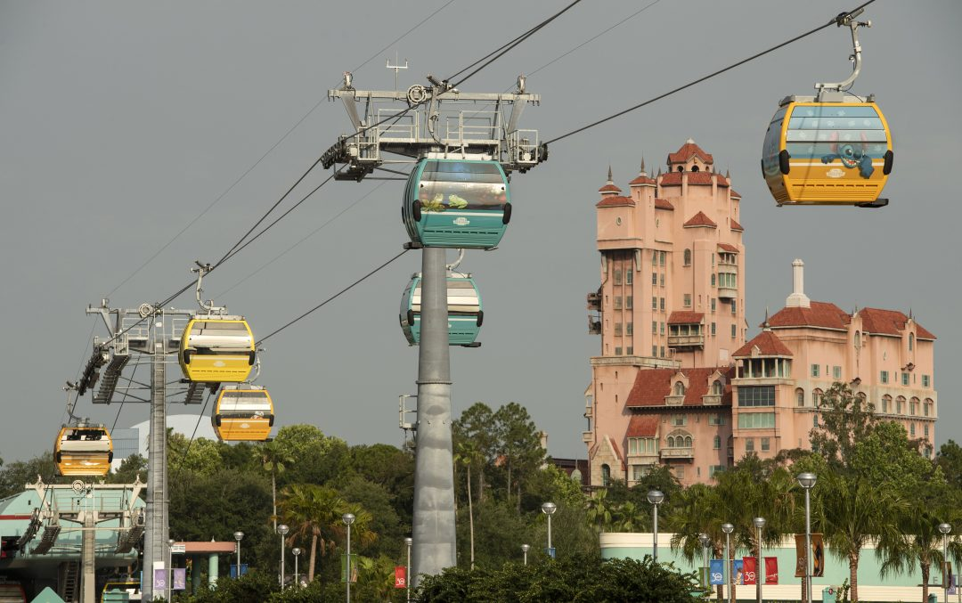 Walt Disney World Resort Unwraps 64 Disney Skyliner Gondolas