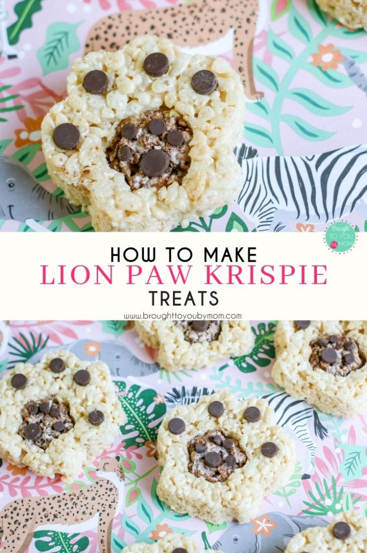 Lion King Krispie Treats