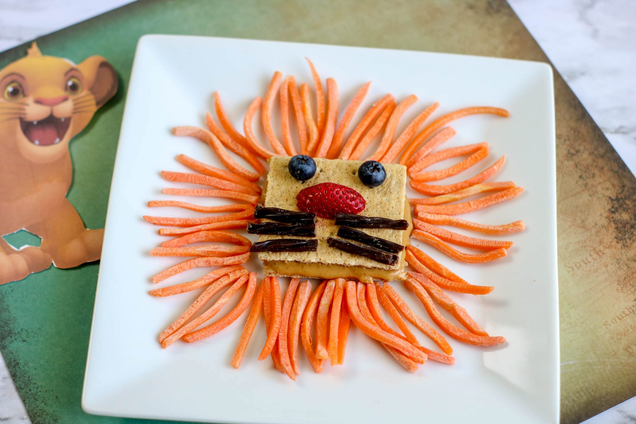 The Lion King themed recipe